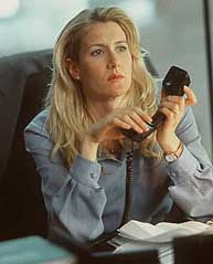 Laura Dern as Dr. Linda Peeno in Damaged Care