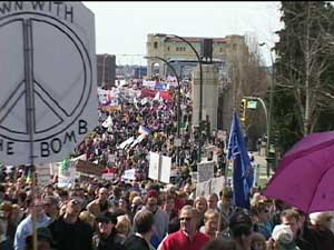 March 20, 2004 Peace March