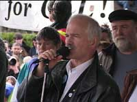 Jack Layton,  NDP Federal Leader